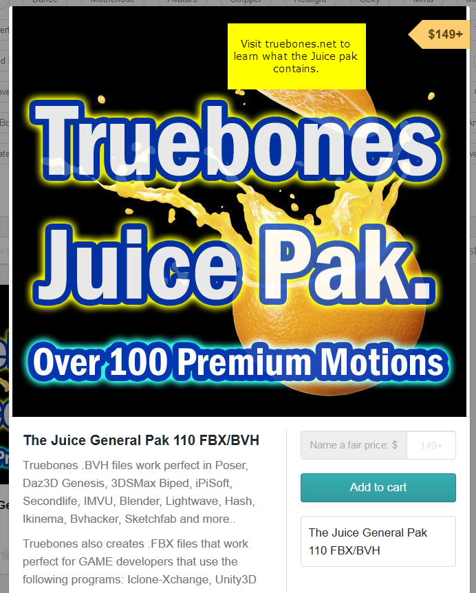Juice Pack :: Beware of Truebones